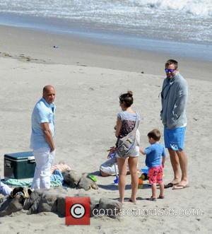 Vin Diesel and Caleb Walker - Vin Diesel filming last scenes for