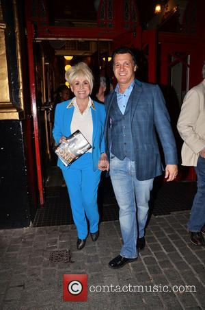 Barbara Windsor - Celebrities attend the 'Fings Ain't Wot They Used T'Be' press night at the Theater Royal in Stratford...