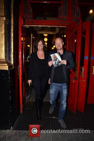 Jake Wood - Celebrities attend the 'Fings Ain't Wot They Used T'Be' press night at the Theater Royal in Stratford...