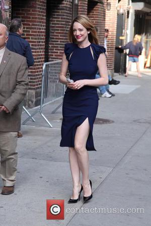 Judy Greer - Celebrities at The Late Show with David Letterman - New York City, New York, United States -...