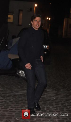 Tom Cruise - Tom Cruise leaving the Chiltern Firehouse restaurant and members club after dinning out at the new restaurant...