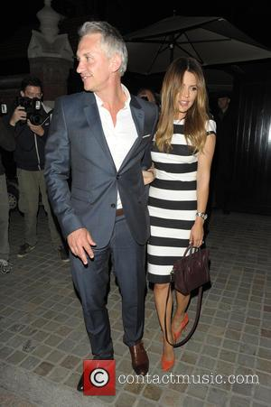 Gary Lineker , Danielle Lineker - Gary Lineker, Danielle Lineker, Jackie St Clair and Carl Michaelson at Chiltern Firehouse -...