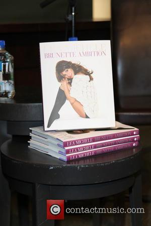 Lea Michele and Brunette Ambition Book