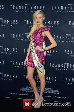Transformers and Miss World Australia/ Erin Victoria Holland