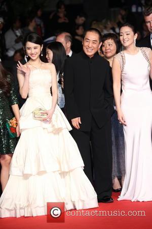 Gong Li, Huiwen Zhang (l) and Zhang Yimou