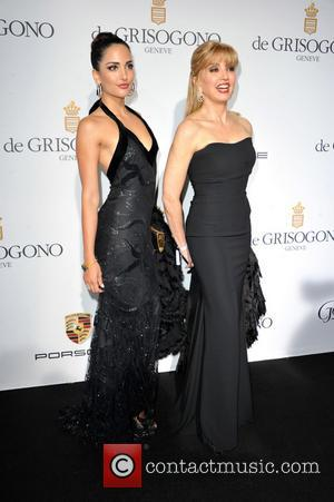 Angelica Donati and Milly Carlucci