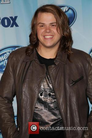 Caleb Johnson - Celebrities attend Fox's 'American Idol' XIII Finale Press Room at Nokia Theatre L.A. Live. - Los Angeles,...