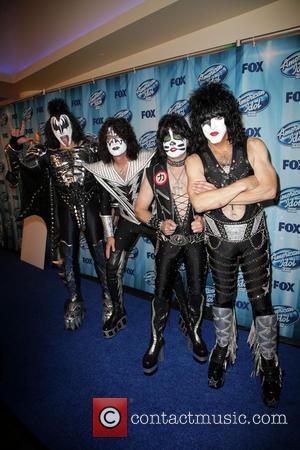 Kiss, Gene Simmons, Eric Singer, Paul Stanley and Tommy Thayer