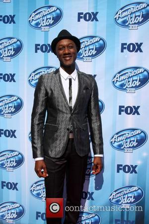 Aloe Blacc - American Idol Season 13 Finale - Arrivals and Press Room - Los Angeles, California, United States -...