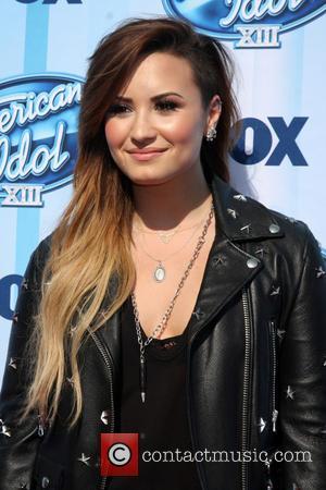 Demi Lovato - American Idol Season 13 Finale - Arrivals...