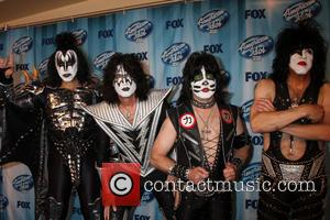 KISS - American Idol Season 13 Finale - Arrivals and Press Room - Los Angeles, California, United States - Wednesday...