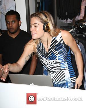 DJ Chelsea Leyland - Macy's and Calvin Klein White Label welcome Olympian Ryan Lochte and model Ireland Baldwin to Herald...