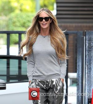 Elle Macpherson - Elle Macpherson outside ITV Studios - London, United Kingdom - Wednesday 21st May 2014