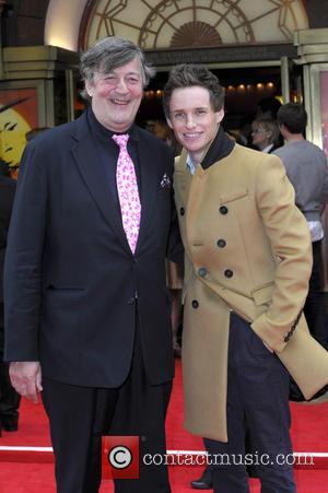 Stephen Fry and Eddie Redmayne