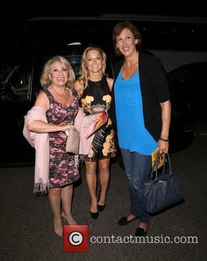 Elaine Paige, Sarah Hadland and Miranda Hart - Miss Saigon Press Night at the Prince Edward Theatre - Departures -...