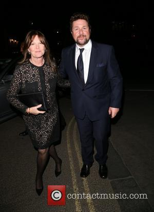Michael Ball and Cathy McGowan - Miss Saigon Press Night at the Prince Edward Theatre - Departures - London, United...