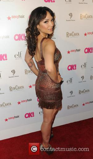 Mayte Garcia - OK! Magazine's annual 'SO SEXY' event held at Lure Patio - Arrivals - Hollywood, California, United States...