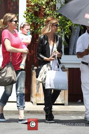 Sarah Michelle Gellar and Rocky James Prinze - Sarah Michelle Gellar and her son, Rocky James Prinze, shopping at Intermix...