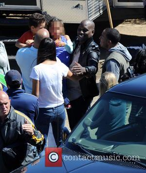 Vin Diesel, Tyrese Gibson, Ludacris, Paloma Jimenez, Hania and Vincent