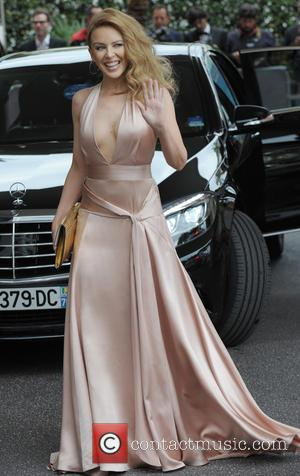 Kylie Minogue - Kylie Minogue Leaving the Martinez - Cannes, France - Thursday 22nd May 2014