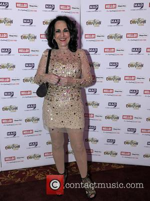 Lesley Joseph - West End Eurovision - 7th MAD Trust HIV/AIDS charity night - London, United Kingdom - Thursday 22nd...