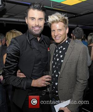 Rylan Clark and Andrew Derbyshire