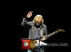 Joe Walsh - The Eagles performing live on stage, first of two sold out concerts 'History of the Eagles Tour...