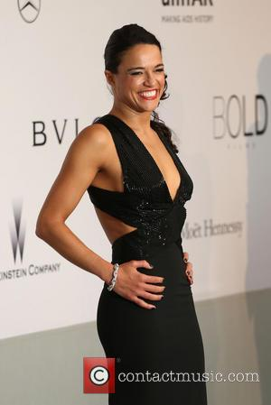 Michelle Rodriguez - AmFar's 21st Cinema Against Aids Gala - Arrivals - London, United Kingdom - Thursday 22nd May 2014