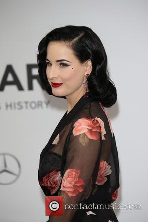 Dita von Teese - amfAR 21st Annual Cinema Against AIDS during the 67th Cannes Film Festival at Hotel du Cap-Eden-Roc...