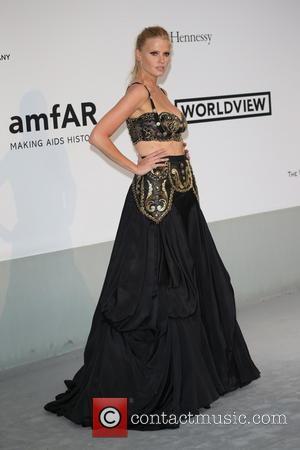 Lara Stone - amfAR 21st Annual Cinema Against AIDS during the 67th Cannes Film Festival at Hotel du Cap-Eden-Roc -...