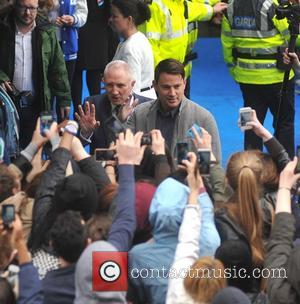 Channing Tatum - Hollywood actors Channing Tatum and Jonah Hill at Trinity College this afternoon where they were presented with...