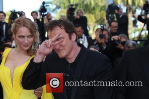 Quentin Tarantino and Uma Thurman - The 67th Annual Cannes Film Festival - Clouds Of Sils Maria - Premiere -...