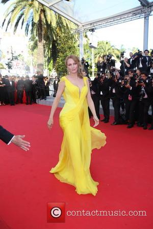 Uma Thurman - The 67th Annual Cannes Film Festival - Clouds Of Sils Maria - Premiere - Cannes, France -...