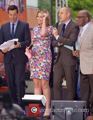 Savannah Guthrie, Matt Lauer and Al Roker