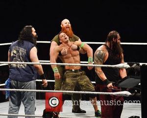 John Cena and The Wyatts