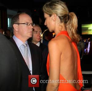 Prince Albert Ii and Victoria Hervey