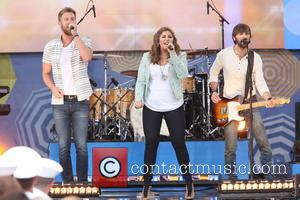 Lady Antebellum, L to R, Charles Kelley, Hillary Scott and Dave Haywood - GMA presents Lady Antebellum for the 2014...