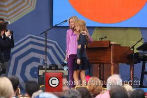 Lara Spencer and Bella Thorne - GMA presents Lady Antebellum for the 2014 Summer Concert series at Rumsey Playfield/SummerStage in...