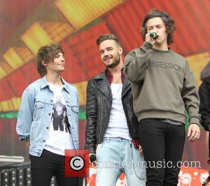 Harry Styles, Liam Payne and Louis Tomlinson