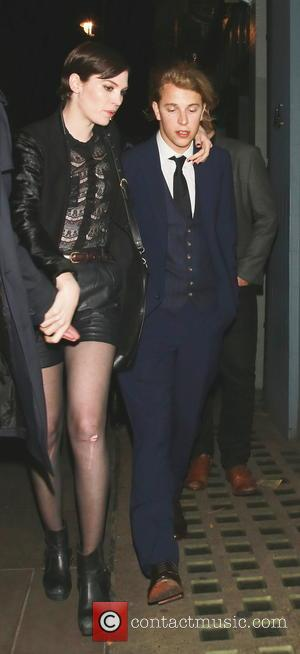 Tom Odell - Celebrities at the Groucho Club in Soho - London, United Kingdom - Friday 23rd May 2014
