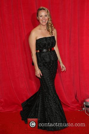 Charlie Brooks - The British Soap Awards 2014 held at Hackney Empire - Arrivals - London, United Kingdom - Saturday...