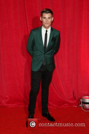 Kieron Richardson - The British Soap Awards 2014 held at Hackney Empire - Arrivals - London, United Kingdom - Saturday...