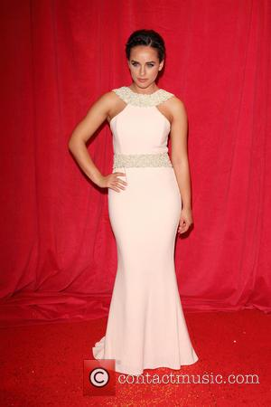 Georgia May Foote - British Soap Awards 2014 - red carpet arrivals - at the Hackney Empire, London - London,...