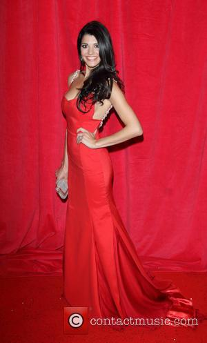 Natalie Anderson - British Soap Awards 2014 - red carpet arrivals - at the Hackney Empire, London - London, United...