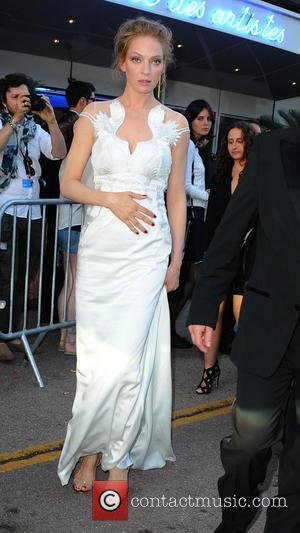 Uma Thurman - The 67th Annual Cannes Film Festival - Closing Ceremony - Outside - Cannes, France - Saturday 24th...