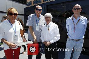 Peter Brabeck-letmathe, Bernie Ecclestone and Donald Mackenzie