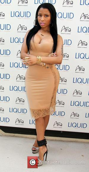 Nicki Minaj - Nicki Minaj hosts an evening at Liquid Pool Lounge inside Aria Resort & Casino - Las Vegas,...