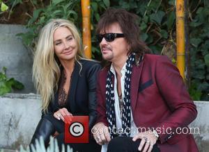 Richie Sambora and Nikki Lund - Richie Sambora and business partner, Nikki Lund are interviewed by Terri Seymour for entertainment...