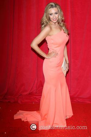 Catherine Tyldesley - British Soap Awards 2014 - Red Carpet arrivals - at the Hackney Empire, London - London, United...