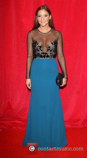 Jacqueline Jossa - British Soap Awards 2014 - Red Carpet arrivals - at the Hackney Empire, London - London, United...